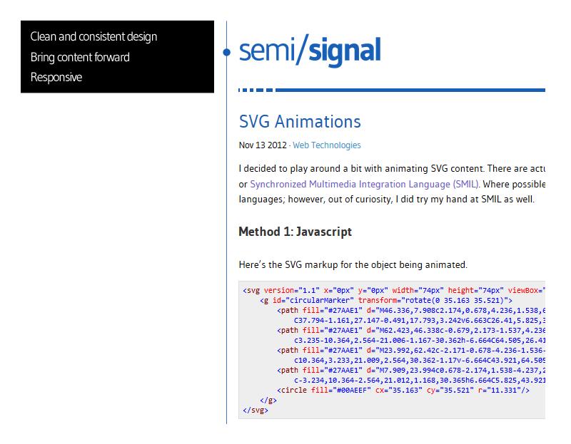 semisignal blog redesign